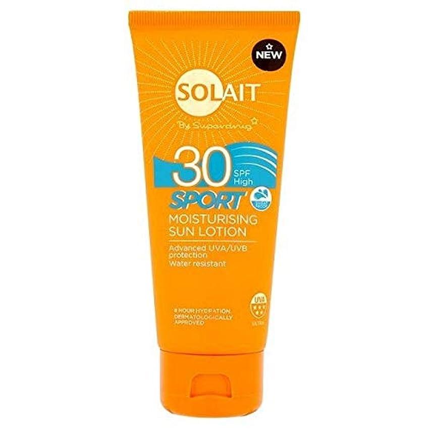 自発懇願する靴[Solait] SolaitスポーツローションSpf30の100ミリリットル - Solait Sport Lotion SPF30 100ml [並行輸入品]