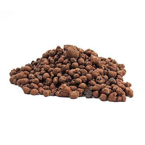 Cultivalley 10L Blähton 8-16mm - Hochwertiges Hydrokultur Tongranulat Rund & Grob - Perfekt für Topfpflanzen als Pflanzton & Drainage