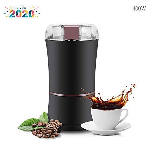Nero Macinino Trita Chicchi per Macchinetta del caff/è Coffee Grinder Elettrico Macchina Macina Semi Navaris Macinacaff/è Professionale a Casa