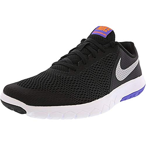 Nike Boy's Flex Experience 5 (GS) Running Shoes (Youth Size 6, Black/Chrome)