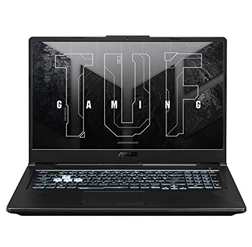 ASUS TUF Gaming A17 FA706IU-HX340T Laptop 43,9cm (17,3 Zoll, FHD, 1920x1080, IPS-Level, 144 Hz) Gaming Notebook (AMD R7-4800H, 8GB RAM, 512GB SSD, NVIDIA GeForce GTX 1660Ti, Win10H) Bonfire Black