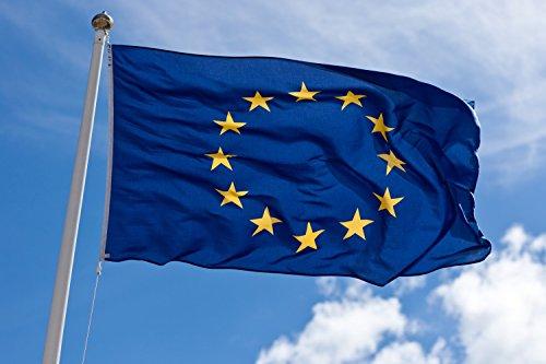 NS Produktion Flaggen Flagge Europa schweres Gewebe Stamin Nautica (Lana) 220 g/m² außen