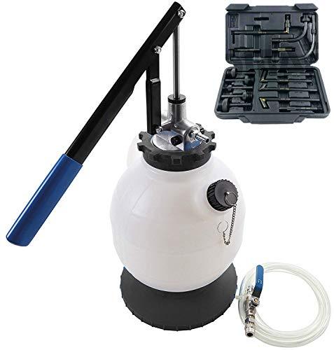 JOMAFA - Bomba de llenado de aceite y liquidos atf para sistemas de transmision y cajas de cambio con 15 adaptadores - maquina de llenado de aceite