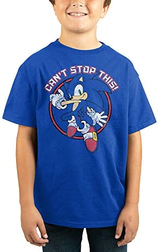 Youth Boys Sonic Retro Video Game Graphic Tee Small product image