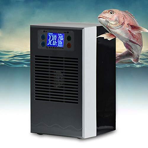 BoTaiDaHong 35L Aquarium Fish Tank Shrimp Water Chiller 10-40℃ Temperature Heater Cooler Set LCD Display AC 110V Adjustable Temperature Aquarium Tool 100W Fish Tank Cooling