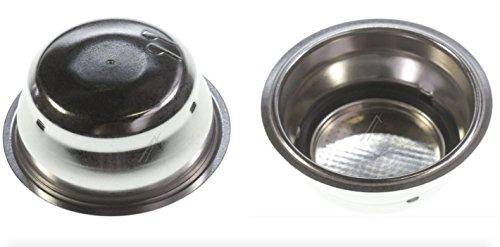 DeLonghi ECO311 Macchina da caffè espresso – Filtro 2 Dosi (2 Tazze, nuova versione con filtro interno rimovibile per una migliore pulizia)