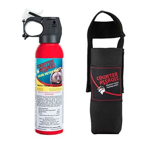 Counter Assault 8.1 oz. Bear Spray with Holster