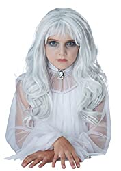 professional California Costume Ghost Costume Wig Gray One US Size for Girls