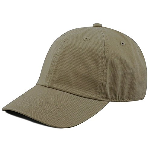 Gelante Baseball Caps Dad Hats 100% Cotton Polo Style Plain Blank Adjustable Size. 1807-Olive