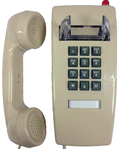 Cortelco 255444V0E27MD Wall Phone w MSG Light