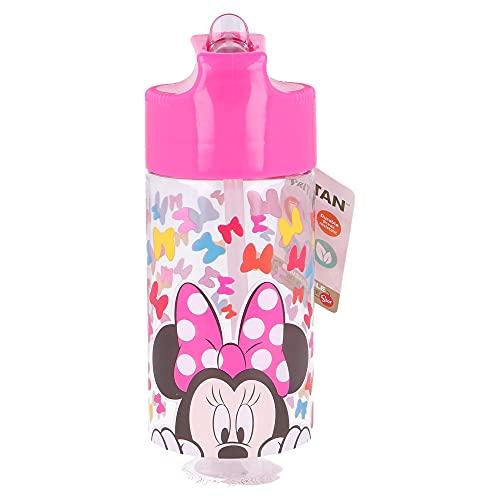 Botella TRITAN HIDRO 430 ML Minnie SO Edgy Bows