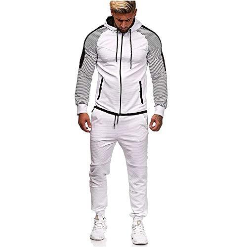 UMore Herren Trainingsanzug   Jogginganzug   Sportanzug   Jogging Anzug   Hoodie-Sporthose   Jogging-Anzug   Trainings-Anzug   Jogging-Hose