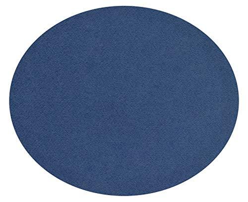 Feltd. Eco Filz Auflage 4mm Simple - geeignet für Fritz Hansen, Arne Jacobsen Serie 7 Stuhl, 3107 // - 29 Farben inkl. Antirutschunterlage (fernblau)