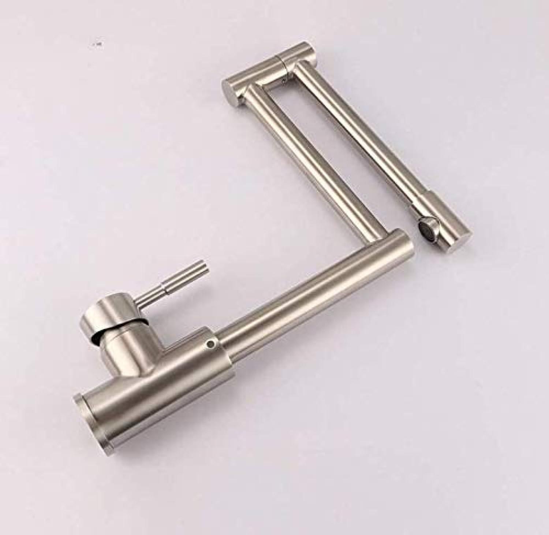 Wasserhahn Wasserhhne Wasserhahn Sus304 Edelstahl Küchenhahn Folding Rotating Brushed Sink Sink Wasserhahn