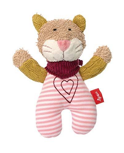 sigikid, Mädchen, Greifling Katze, Urban Baby Edition, Rosa, 39031