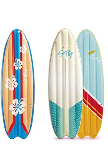 Intex 58152 aufblasbar Surf Matte, 178 x 69 cm, farblich sortiert