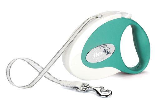 FLAMINGO - Flexi collection vert/blanc 5mètres (25kg et -)