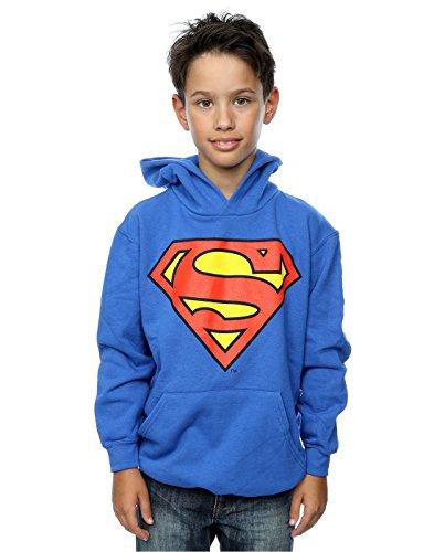 DC Comics niños Superman Logo Capucha 5-6 Years Azul Real