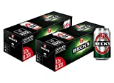 BECK'S Pils Dosenbier Fridgepack - Dosenpack EINWEG (2 x 12 x 0,33 l)