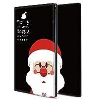 iPad 8 ケース 8世代 カバー 10.2インチ ケース カメラ穴 スタンド機能 カード収納 耐衝撃 高級PUレザー 全面保護 軽量 圣诞老人 レトロ 9323305