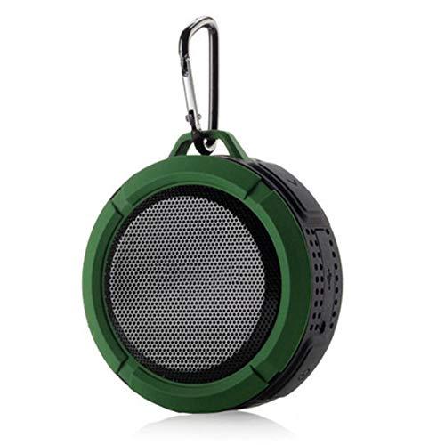 KAR Bluetooth-Lautsprecher, Wasserdicht Outdoor Wireless Bluetooth Lautsprecher Freisprecheinrichtung Mit Mic Saugnapf Haken Tragbare Dusche Badewanne Stereo-Musik-Player,B