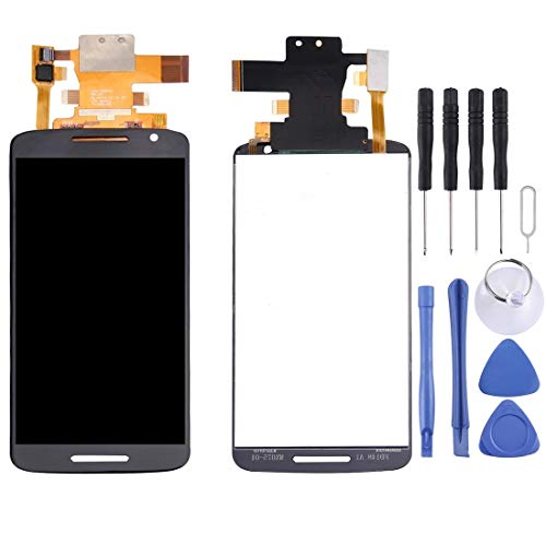 Yangmeijuan Reparatur und Ersatzteile LCD-Display + Touchpanel for Motorla Moto X Play/X (3. Generation) / XT1562 / XT1563 5,5 Zoll (Schwarz) (Color : Black)