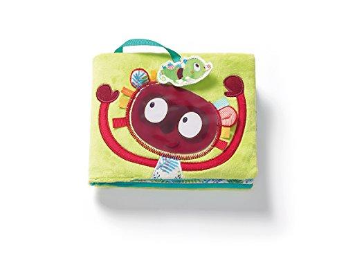 Lilliputiens 86860 George Stoffbuch / Lernbuch / Fotoalbum für Kinder, geeignet ab 6 Monaten