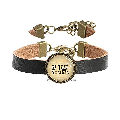 YHWH & Yeshua Bracelet Bangle,Tetragrammaton Symbol Bracelet,Picture Bracelet,Minimalist Bracelet,Dainty Bracelet,N243