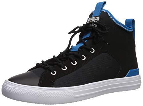 Converse Chuck Taylor All Star Ultra Cons Force Zapatilla de deporte para hombre, negro (Negro/Azul Imperial/Blanco), 39.5 EU