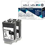 LCL Cartucho de Tinta Compatible PFI102 PFI-102 PFI102MBK PFI-102MBK 0894B001 130ML Pigment 2MBK Reemplazo para Canon IPF500 IPF510 IPF510plus IPF600 IPF605 IPF605plus IPF610 IPF610plus IPF650 IPF700