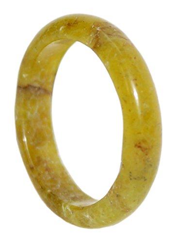 Kaltner Präsente Geschenkidee - Edelstein Ring Carneol Größe 54 in rotem Samtbeutel