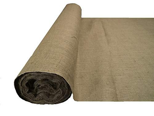 Hessian Fabric Woven Natural Jut...