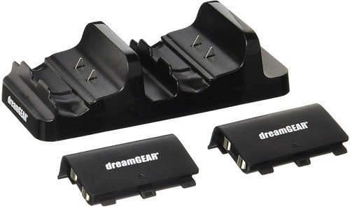 DreamGear Dual Power Dock for Xbox One – Standard Edition