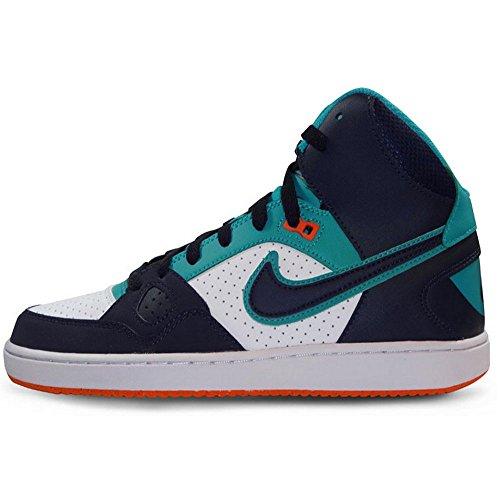 Nike Men's Son Of Force Mid Obsidian/Turbo Green/White/Obsidian 11 D - Medium