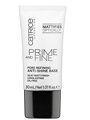 Catrice Fine and Primer base reductora de poros y antibrillos