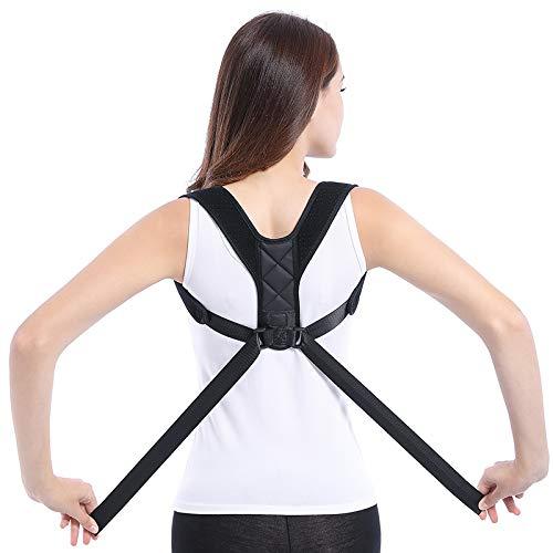 REDBAX Haltungskorrektur, Rückenstütze, für eine gesunde Haltung, Größe verstellbar für Männer und Frauen, Geradehalter