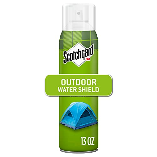 Scotchgard Heavy Duty Water Shield, Repels Water, Ideal For Outerwear, Tents, Backpacks, Canvas, Polyester And Nylon, 13 Ounces
