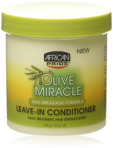AFRiCAN PRIDE OLIVE MIRACLE LEAVE -IN CONDITIONER 15oz