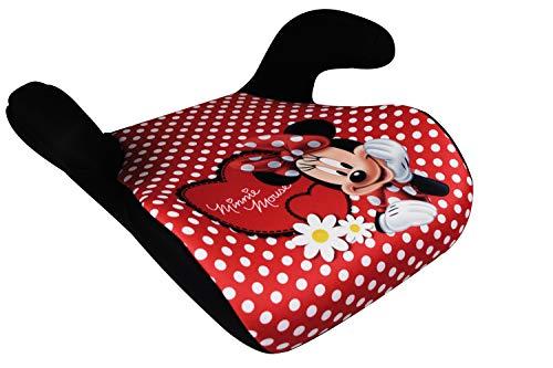 HiTS4KiDS - Kindersitzerhöhung, Auto-Sitzerhöhung, Kindersitz, 15-36kg, 3-12 Jahre, Gruppe 2-3, ECE R44/04 geprüft, Disney Minnie Mouse