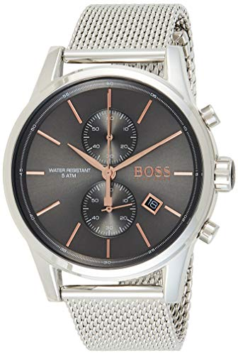 Hugo Boss Men's Chronograph Quartz Watch with Stainless Steel Strap 1513440
