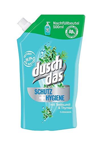 Duschdas Flüssigseife Schutz & Hygiene Nachfüllbeutel, 500 ml