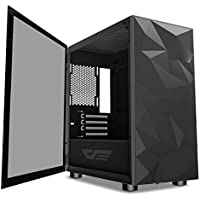 darkFlash DLM21 MESH BLACK Tempered Glass Micro ATX/Mini ITX Tower Case
