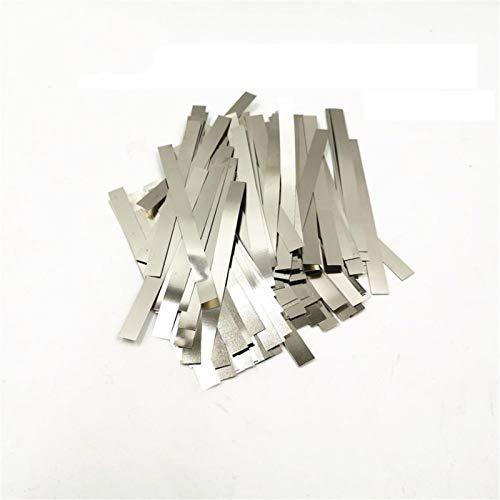 Ztengyu-Varillas para soldar Hojas de correa de placa de níquel de tira de acero chapado en níquel, para 18650 soldador de batería de la máquina de la máquina de la máquina de ion-ion, Rendimiento est