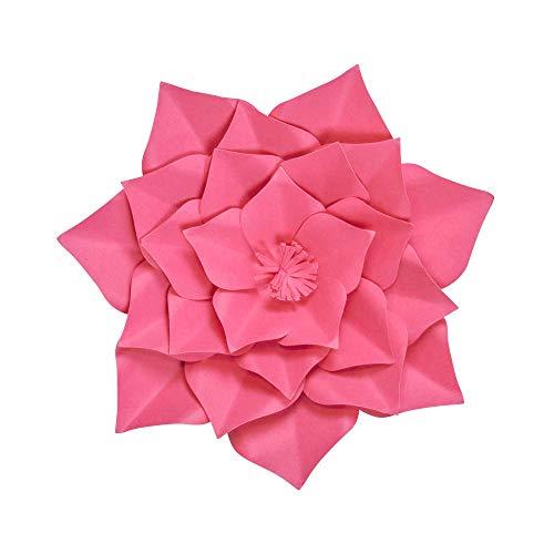 SKYLANTERN Fleur en Papier Gardénia Fuchsia 30 cm