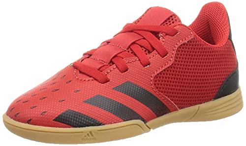 adidas Predator Freak .4 IN Sala J,  Zapatillas Deportivas,  Rojo/NEGBÁS/GUM3,  34 EU