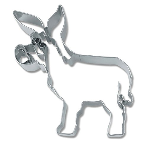 Staedter Donkey Forme Cookie Cutter, Argent