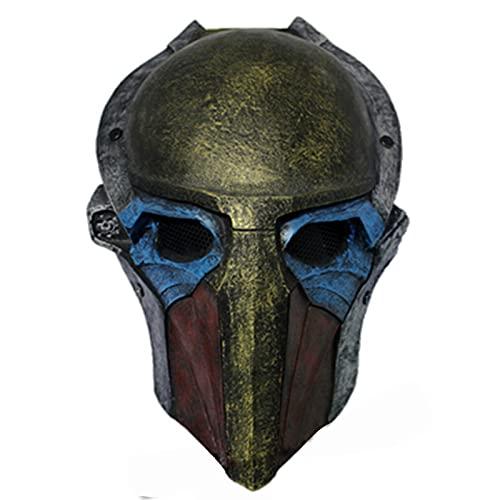 Mulrcks Predator Falconer Adult Mask 1:1 Scale Replica Halloween Costume Mask