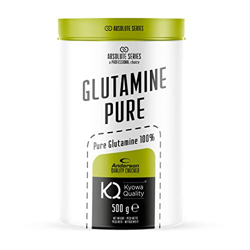 Absolute Series, Glutamine Pure, integratore a base di purissima Glutammina in polvere Kiowa, 500g