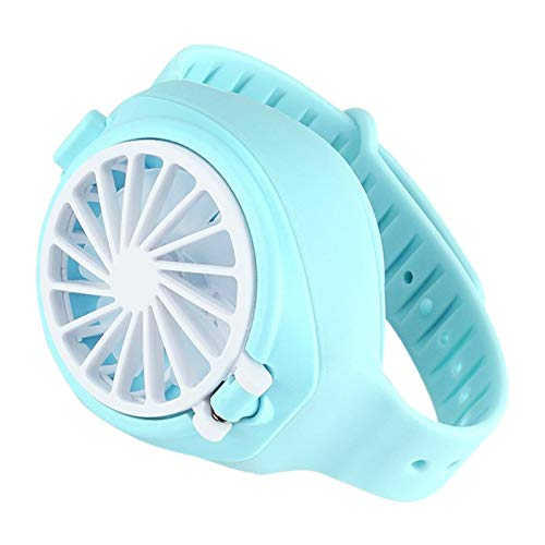 Haudang Ventilador pequeño ventilador de mano pequeño electrodomésticos de aire acondicionado ventilador perezoso ventilador