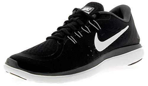 Nike Herren Flex 2017 RN RUN Laufschuhe, Mehrfarbig (Black/White-Anthracite-Cool Grey), 45 EU